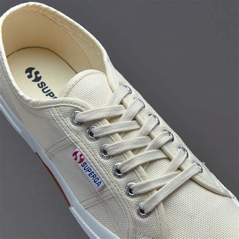 mens shoes superga 2750 cotu ivory shoes 129598