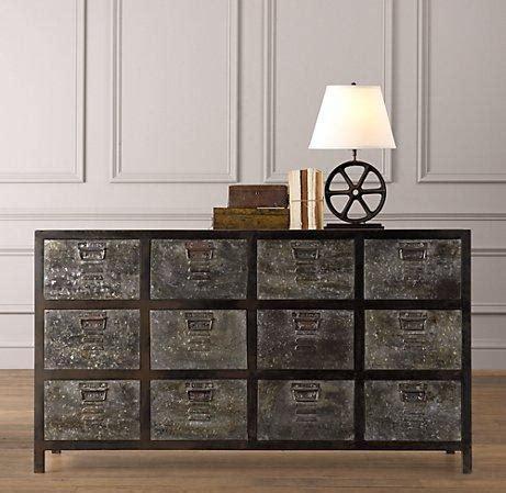 vintage locker dresser dressers restoration hardware