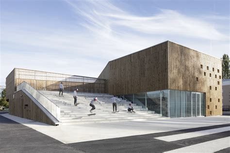 cultural sectionalism cultural center in nevers ateliers o s architectes