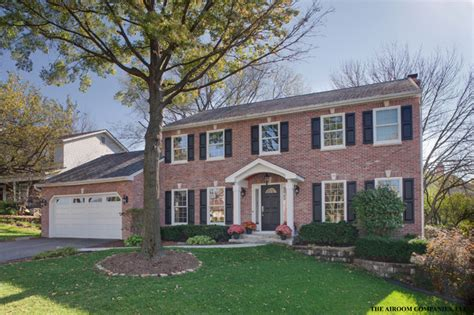 colonial brick homes authentic colonial transformation traditional exterior