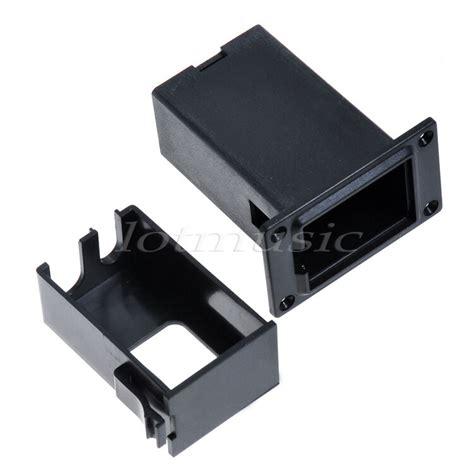 pcs  battery holder case box cover  guitar bass pickup parts ebay