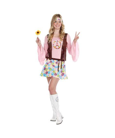 Peace Baby Light Up Hippie Costume Teen Costume Light Up Costume