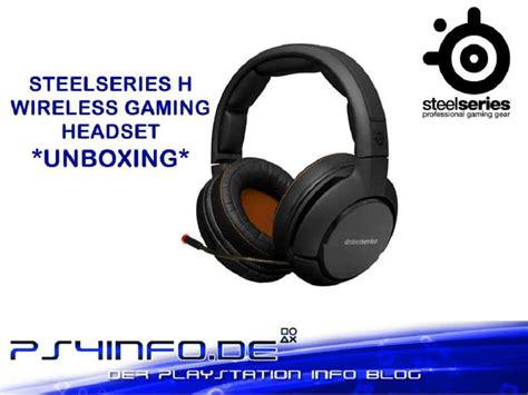 Headset Steelseries H Wireless steelseries h wireless gaming headset unboxing