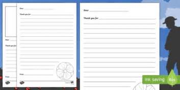 remembrance day ks letter template activity