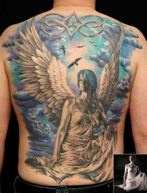 guardian angel tattoos small guardian sleeve tattoos for