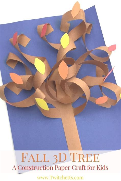 Construction Paper Fall Crafts - 25 unique construction paper crafts ideas on