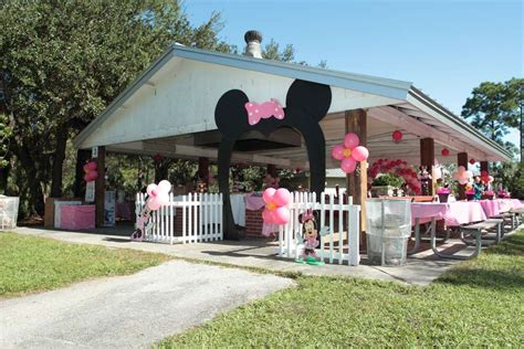 minnie mouse backyard party minnie mouse birthday party ideas photo 3 of 24 catch