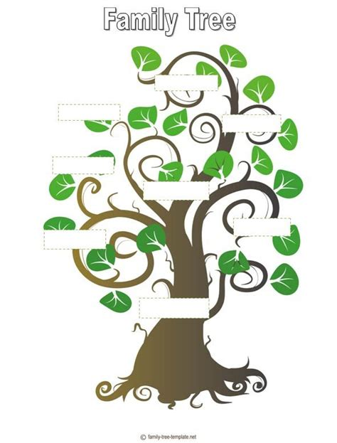 family tree template genealogy family trees 1