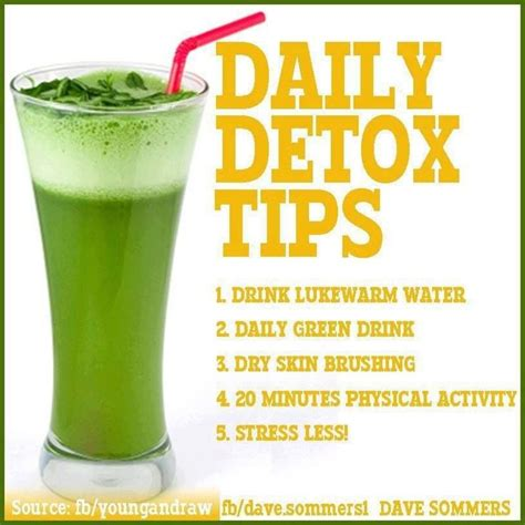 Daily Detox Cleanse Drink by 15 Best Daily Health Tips Images On Healthy