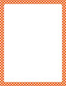orange borders clip art 58