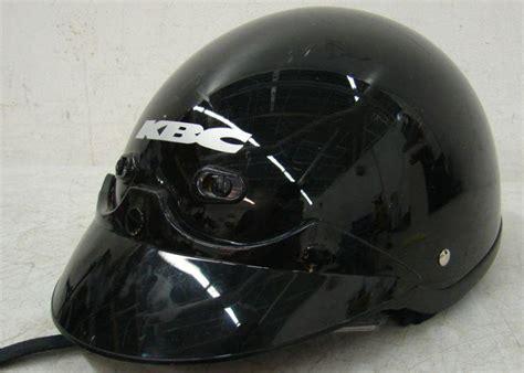 Helm Kbc Half Find Preowned Kbc Tk410 Half Helmet With Visor Xs Gloss