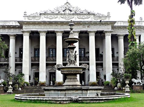 Italianate Style House by Marble Palace Calcutta The Marble Palace Stands In A