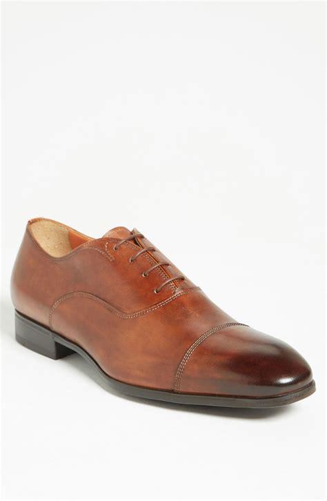 oxford cap toe shoes santoni salem cap toe oxford in brown for brown