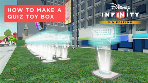 How To Make An Infinity - how to create a box screenshot disney infinity 3 0