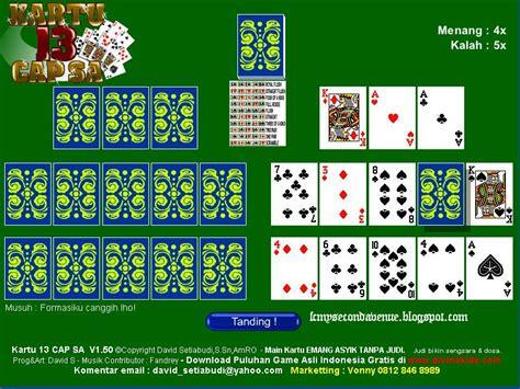 membuat game kartu my second avenue game kartu capsa offline
