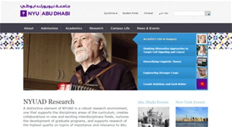Mba At Nyuad by Study In Uae Top Universities In Abu Dhabi Uae New