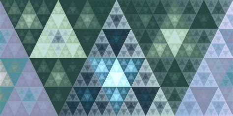 triangle pattern art wallpaper digital art abstract 3d symmetry blue