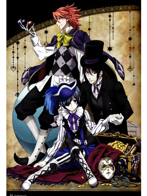 black butler book of circus black butler book of circus series review 100wordanime