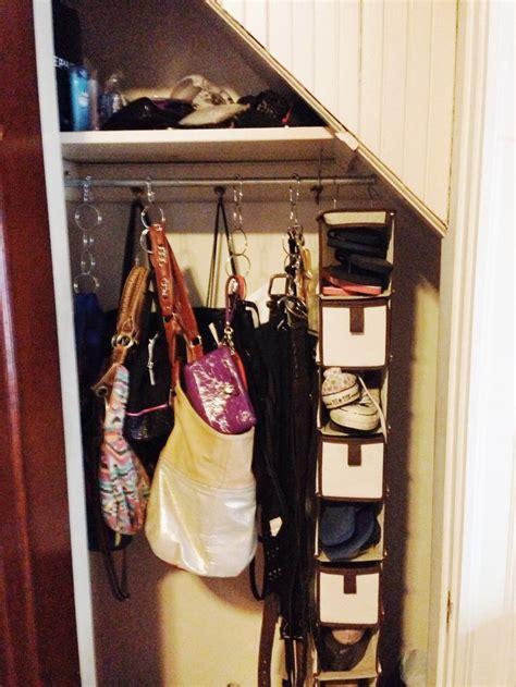 closet organizer for purses closet organizer purses belts bags target shower
