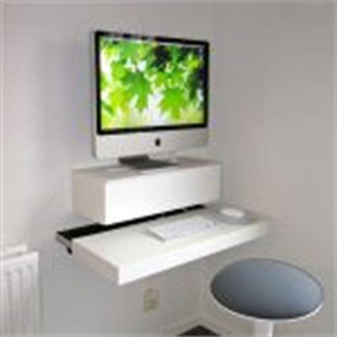 minimalist white floating desk ikea for large monitor ikea floating desk selections with lack shelf homesfeed