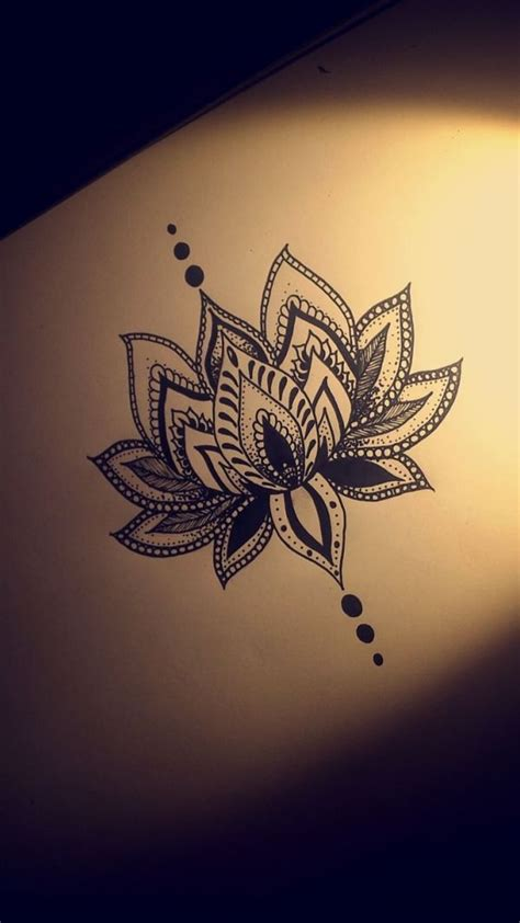 religious henna tattoo designs lotus flower design by christian ideas