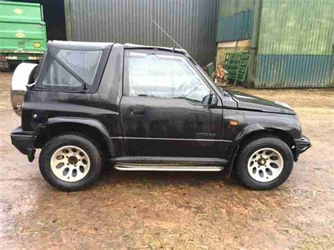 Suzuki Vitara Soft Top For Sale Suzuki Vitara 1996 Soft Top Mot Expired Dec 2014 Car For Sale