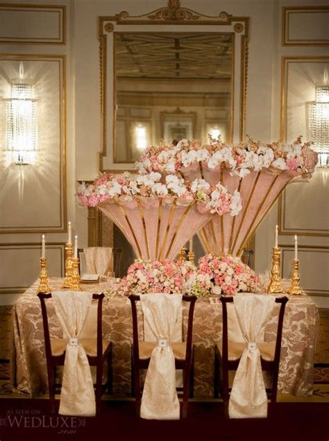 pictures  rose gold pink gold bronze tablescapes