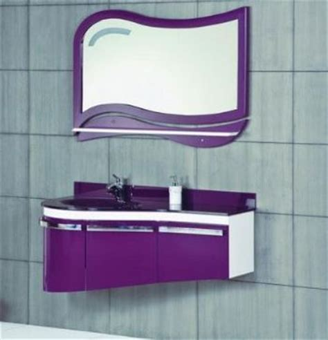 purple bathroom vanity p1312 pvc bathroom vanity cabinet with glass sink from