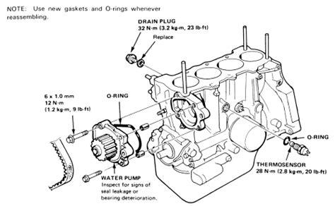 water for 2001 honda accord engine diagram water