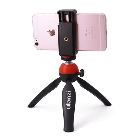 Mini Tripod Plus Holder U T1910 ulanzi mini tripod with holder mount selfie portable tabletop tripod for iphone sony