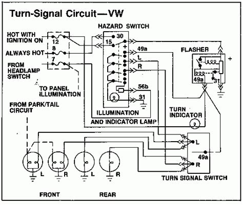1973 vw wiring diagram fuse box and wiring diagram
