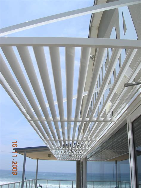 Aluminium Shade Awnings by Carbolite Aluminium Arm Supported Awnings Illawarra