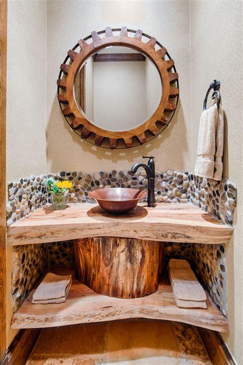Rustic Guest Bathroom Ideas Rustic Guest Bathroom Ideas