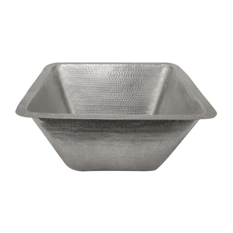nickel plated copper sink shop premier copper products electroless nickel plated