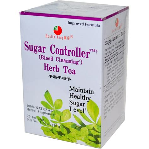 Best Blood Detox Tea by Health King Sugar Controller Blood Cleansing Herb Tea