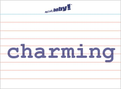 what does quot charming quot learn at baby