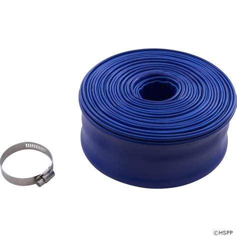 backwash hose valterra 2 quot x 50 foot roll with cl