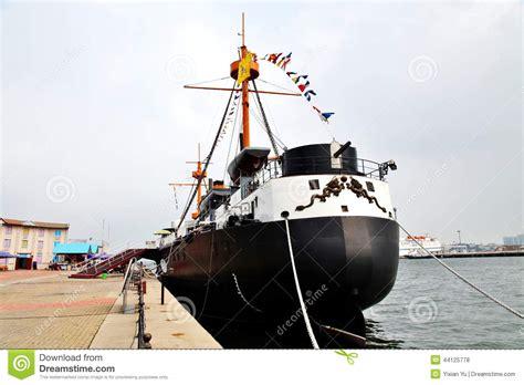 Qing Navy ancient battleship stock photo image 44125778