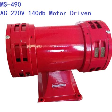 Produk Istimewa Motor Siren 220v Ac Model Ms 290 120db Alarm Sound compare prices on air alarm shopping buy low price air alarm at factory price