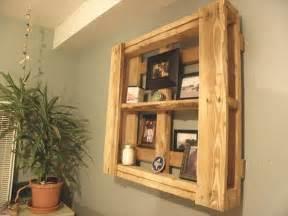 paletten regal 28 pallet shelves for your home walls pallet furniture diy