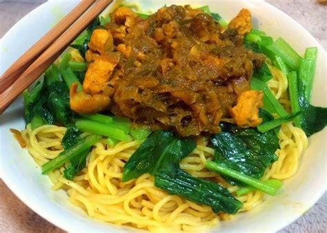 membuat mie ayam homemade resep cara membuat mie ayam solo sederhana enak dapur