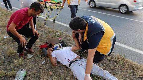 kaza yapip yaralandilar  bin  tlde ceza yediler