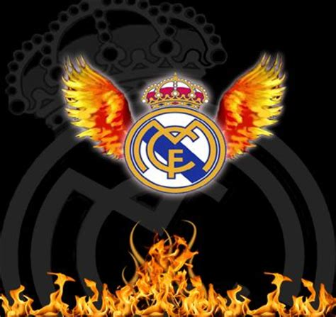 imagenes real madrid logo fire escudo por jose11x escudo fotos del real madrid