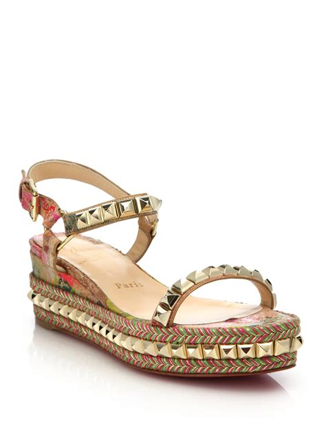 christian louboutin sandals christian louboutin studded sandals christian louboutin