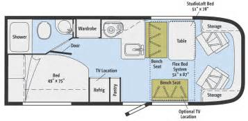 rialta motorhome floor plans winnebago rialta floor plans motorcycle review and galleries