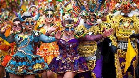 imagenes impresionantes de bolivia fotos los impresionantes colores del carnaval de oruro en