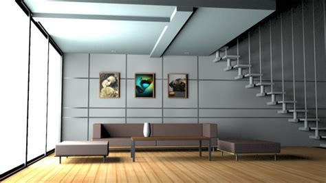 home scene interiors house interior 3d model obj max
