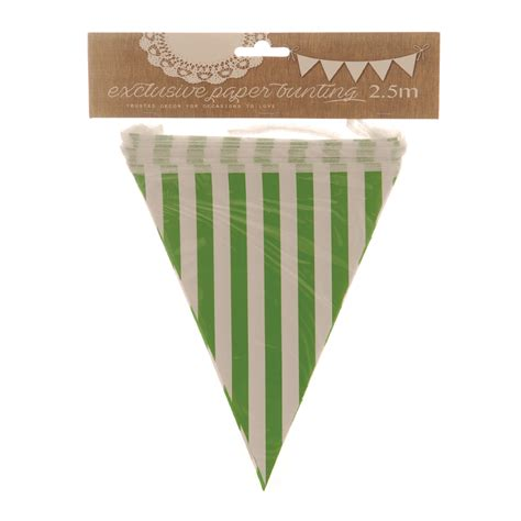 Paper Bunting - paper bunting stripes hashtag shop
