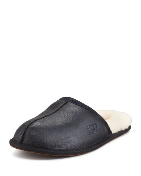 ugg mule slippers ugg scuff mule slipper black