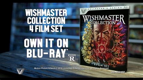 film blu youtube the wishmaster 4 film collection blu ray trailer vestron